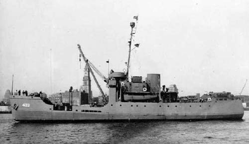 Wreck of the USCGC SPAR (WLB-403)
